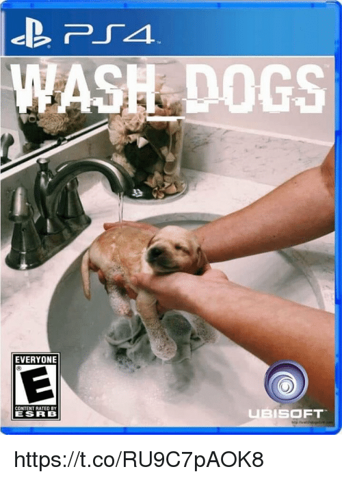 Ubisoft: ASH DOGS  EVERYONE  CONTENT RATED BY  ESRB  UBISOFT https://t.co/RU9C7pAOK8