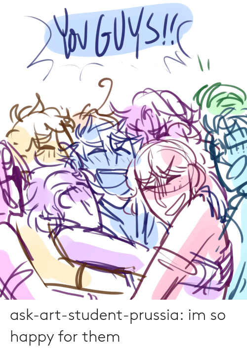 im so happy: ask-art-student-prussia:  im so happy for them