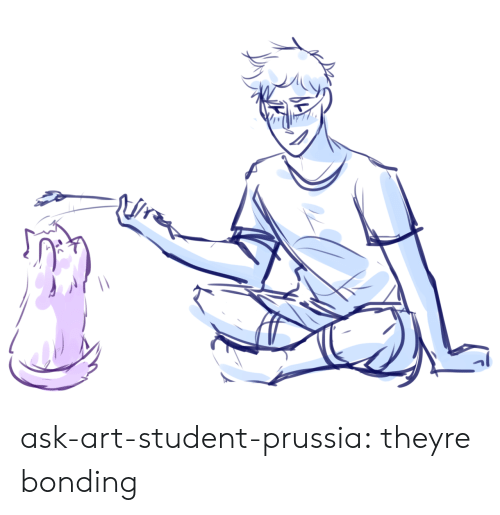 Target, Tumblr, and Blog: ask-art-student-prussia:  theyre bonding