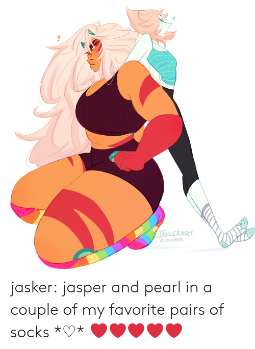 Tumblr, Blog, and Http: ASKERART jasker:  jasper and pearl in a couple of my favorite pairs of socks *♡*  ❤️❤️❤️❤️❤️