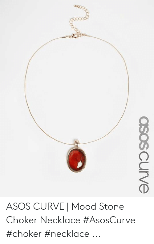 Curving, Mood, and Asos: asosCurve ASOS CURVE | Mood Stone Choker Necklace #AsosCurve #choker #necklace ...