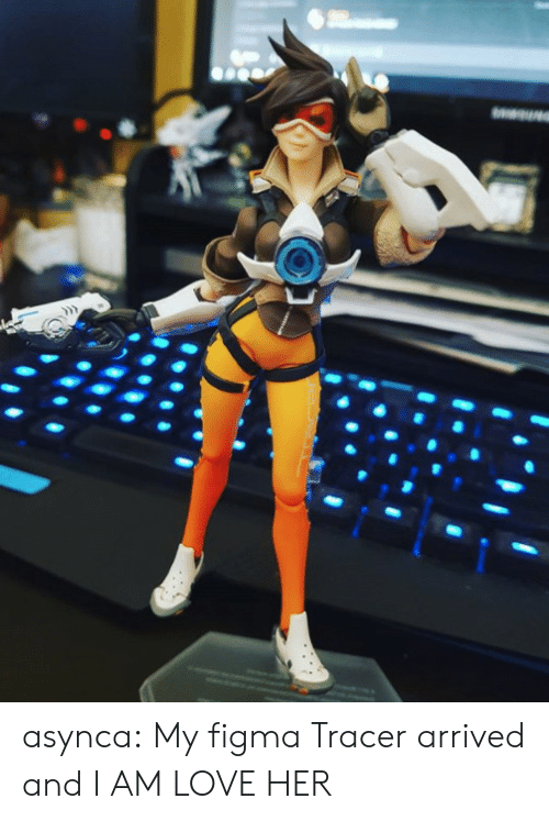 i am love: asynca:  My figma Tracer arrived and I AM LOVE HER