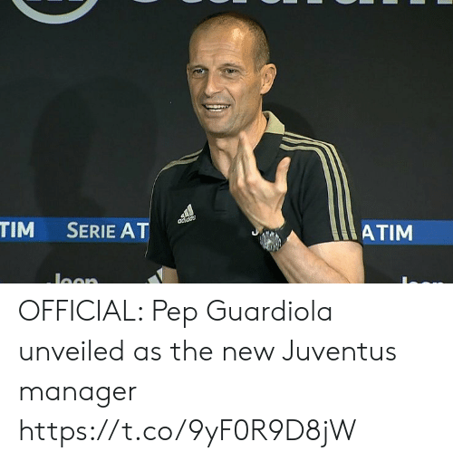 Memes, Juventus, and 🤖: ATIM  TIM SERIE AT OFFICIAL: Pep Guardiola unveiled as the new Juventus manager https://t.co/9yF0R9D8jW