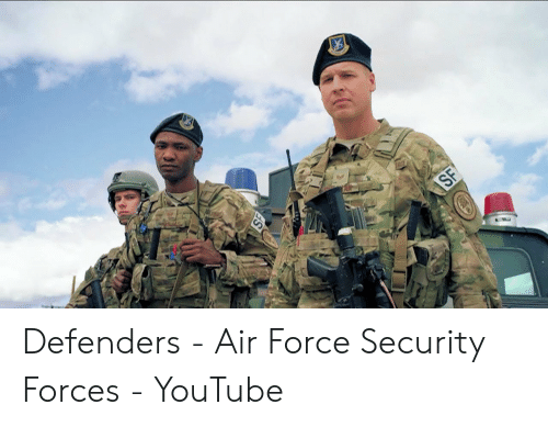 AVAS RCE SF Defenders - Air Force Security Forces - YouTube