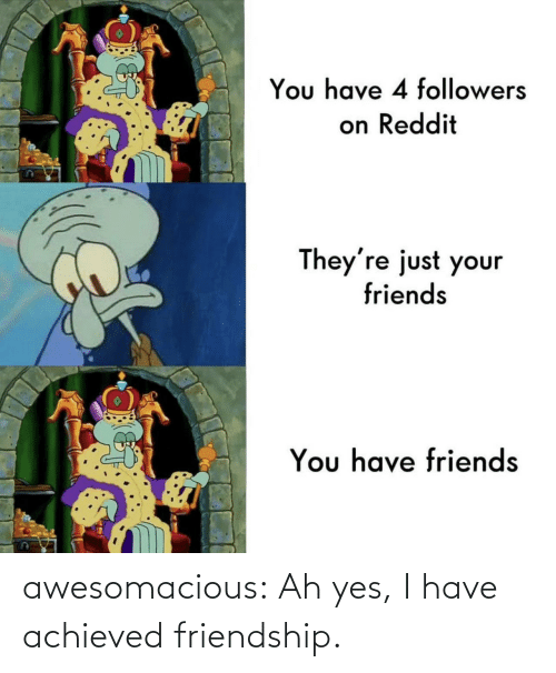 Friendship: awesomacious:  Ah yes, I have achieved friendship.