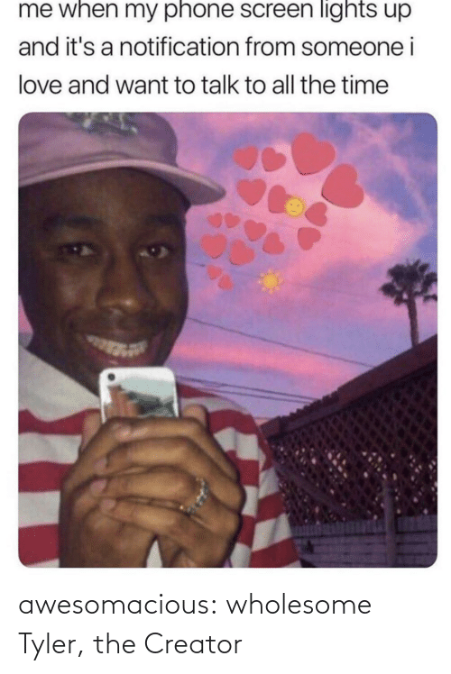 creator: awesomacious:  wholesome Tyler, the Creator