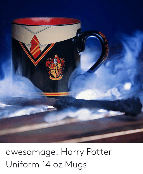 mugs: awesomage:  Harry Potter Uniform 14 oz Mugs
