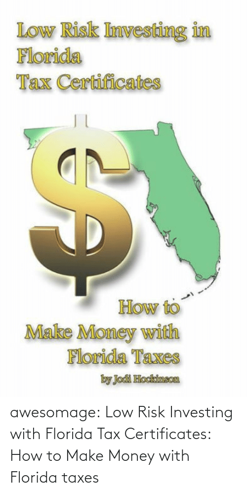 Low: awesomage:  Low Risk Investing with Florida Tax Certificates: How to Make Money with Florida taxes