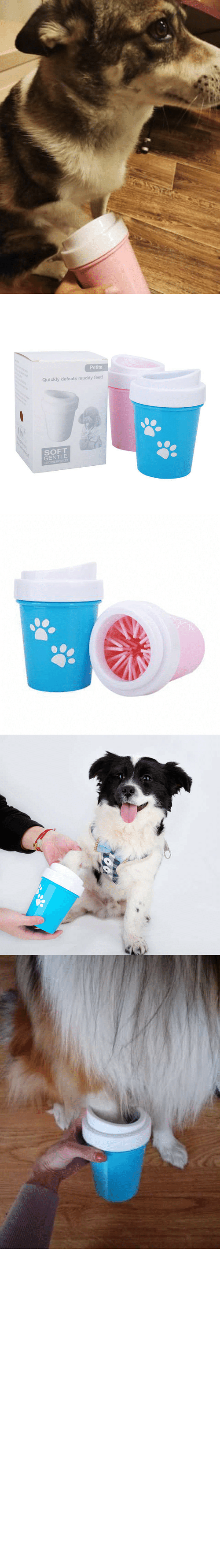 "Home: awesomage:   PAW CLEANER     Now your best friend can have all the muddy dirty fun he wants without bringing it all into your home or vehicle.    30% OFF plus Free Worldwide Shipping with coupon code ""CUDDLING""    All funds gathered will be donated for rescue dog shelters    SUPPORTS US NOW, ORDER AND SHARE OUR CAUSE!https://www.doggiemon.com/products/paw-cleaner"