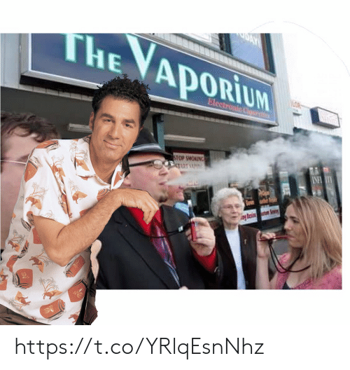soo: AY  THE VAPORIUM  LOR  Electronic Cloart  INFTY  ONTHOWS SOO  TART  esi So https://t.co/YRlqEsnNhz