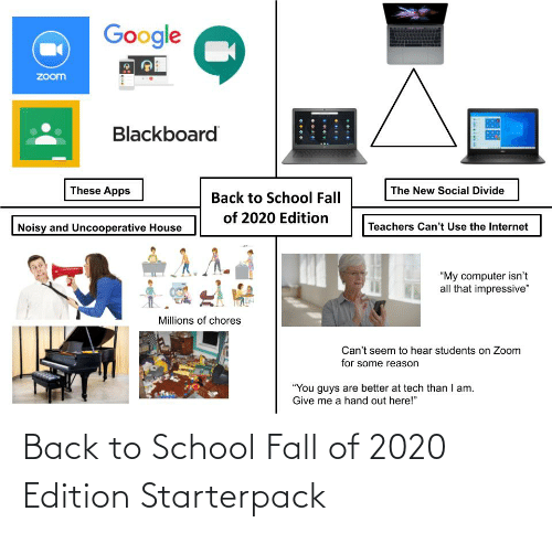 edition: Back to School Fall of 2020 Edition Starterpack