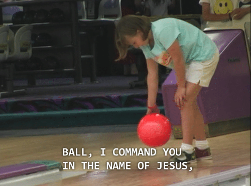 Commandment: BALL, I COMMAND YOU  IN THE NAME OF JESUS