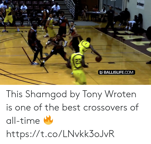 Memes, Best, and Time: BALLISLIFE.COM This Shamgod by Tony Wroten is one of the best crossovers of all-time 🔥 https://t.co/LNvkk3oJvR