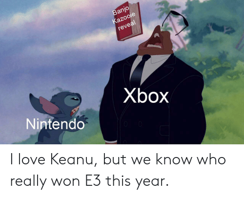 Banjo Kazooie Reveal Xbox Nintendo I Love Keanu but We Know