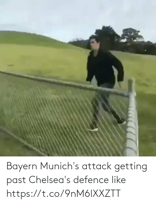 attack: Bayern Munich's attack getting past Chelsea's defence like  https://t.co/9nM6lXXZTT