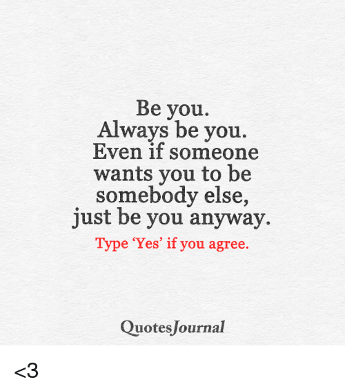 always be you even if