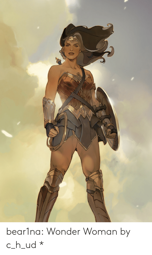 Wonder Woman: bear1na:  Wonder Woman by c_h_ud *
