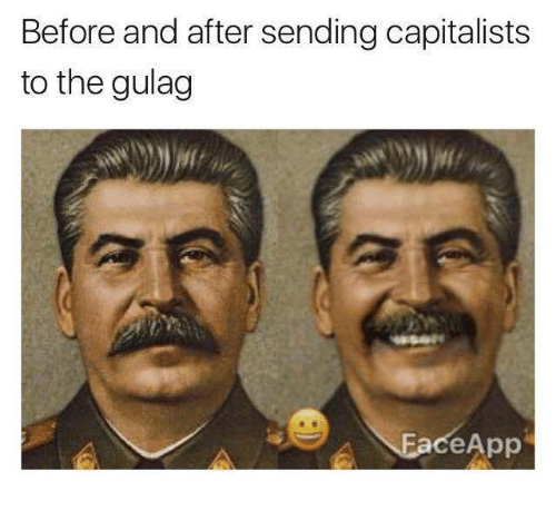 Gulag,  Before and After, and And: Before and after sending capitalists  to the gulag  ceApp