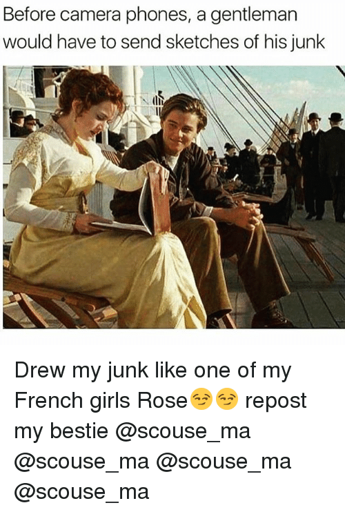 french girls: Before camera phones, a gentleman  would have to send sketches of his junk Drew my junk like one of my French girls Rose😏😏 repost my bestie @scouse_ma @scouse_ma @scouse_ma @scouse_ma