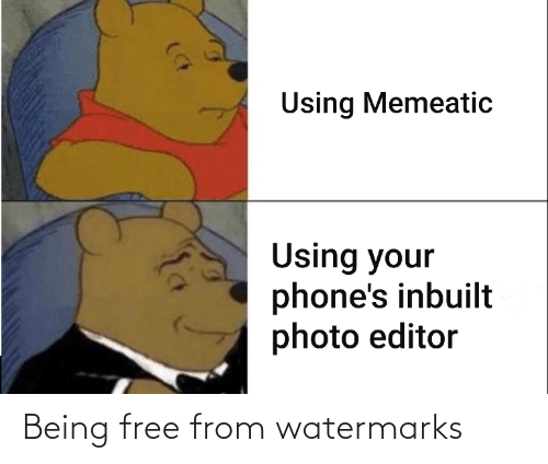 Watermarks: Being free from watermarks