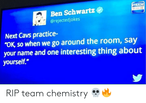 Ben Schwartz Next Cavs Practice- OK So When We Go Around the Room