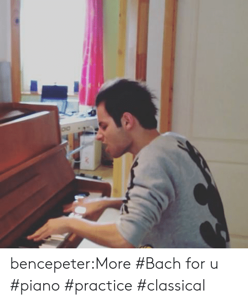 Tumblr, Blog, and Piano: bencepeter:More #Bach for u #piano #practice #classical