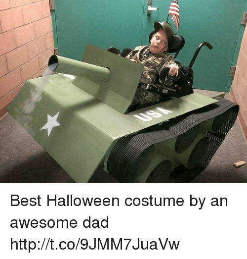 Awesome Dad: Best Halloween costume by an awesome dad http://t.co/9JMM7JuaVw