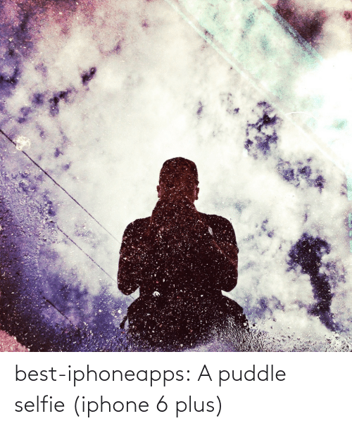 Iphone 6 Plus: best-iphoneapps:  A puddle selfie (iphone 6 plus)