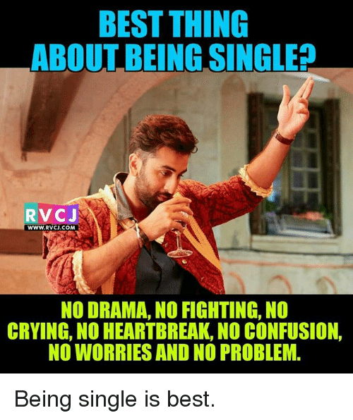 Being Single Is