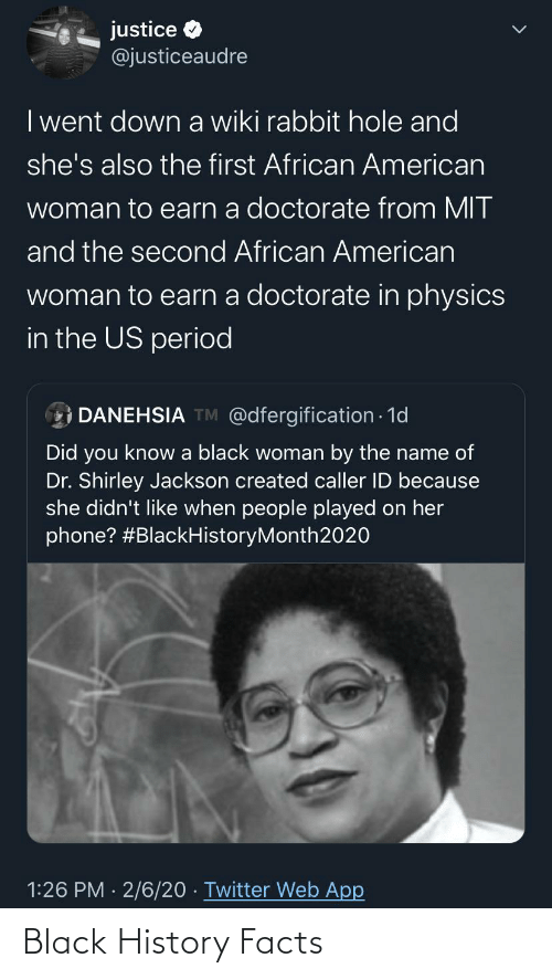 Facts: Black History Facts