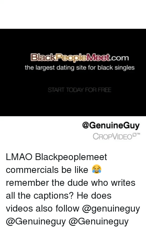Black dating website commercial