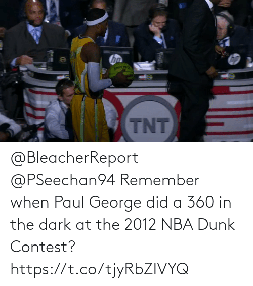 George: @BleacherReport @PSeechan94 Remember when Paul George did a 360 in the dark at the 2012 NBA Dunk Contest?   https://t.co/tjyRbZIVYQ