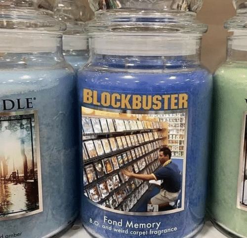Blockbuster, Weird, and Amber: BLOCKBUSTER  DLE  EA  BO. and weird carpet fragrance  Fond MemoryY  d amber