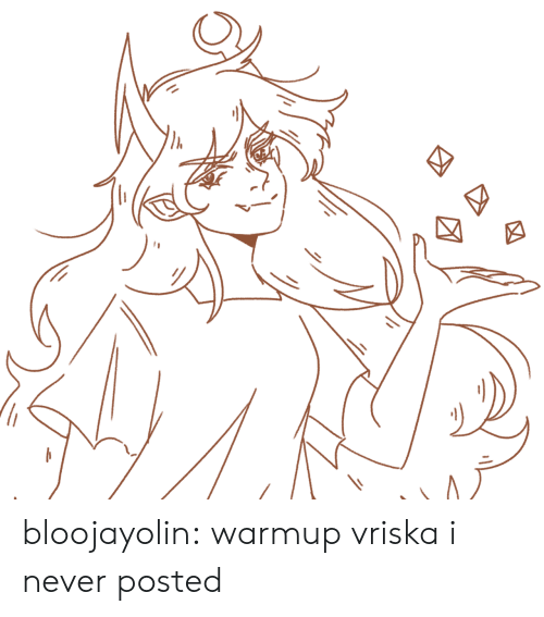 Target, Tumblr, and Blog: bloojayolin:  warmup vriska i never posted
