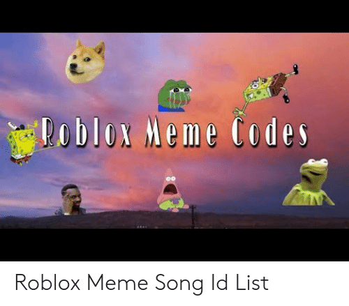 Best Roblox Funny Music Codes