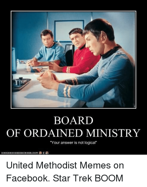 Board Of Ordained Ministry Your Answer Is Not Logical United