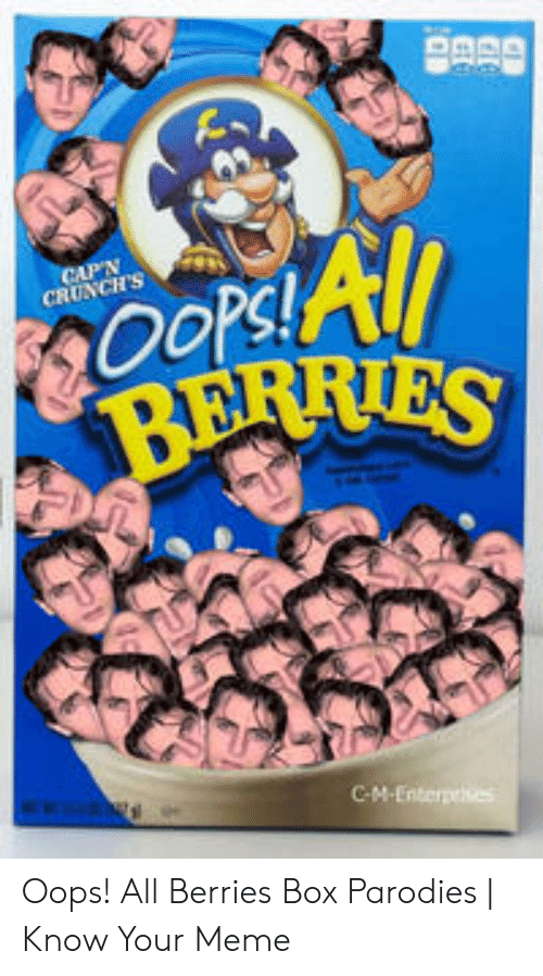 25 Best Memes About Oops All Berries Box Parodies Oops All Berries Box Parodies Memes Share the best gifs now >>>. oops all berries box parodies memes