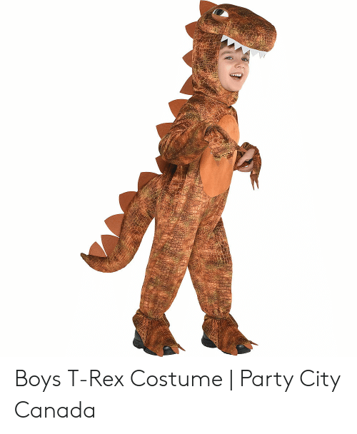 Boys T-Rex Costume | Party City Canada | Party Meme on awwmemes com