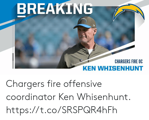 Ken: BREAKING  CHARGERS FIRE OC  KEN WHISENHUNT Chargers fire offensive coordinator Ken Whisenhunt. https://t.co/SRSPQR4hFh