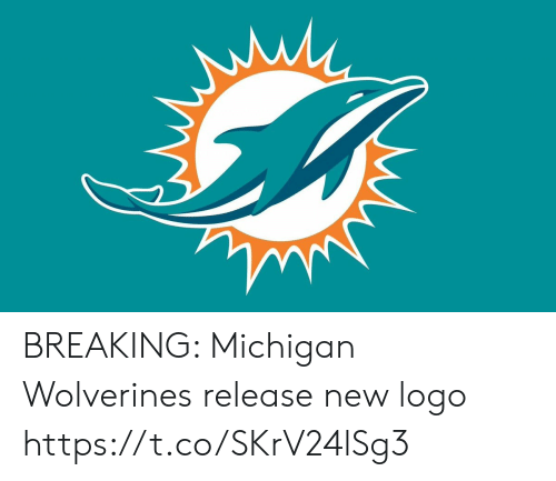 Michigan: BREAKING: Michigan Wolverines release new logo https://t.co/SKrV24lSg3