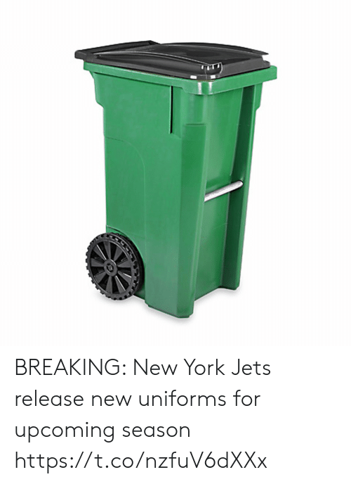 New York Jets: BREAKING: New York Jets release new uniforms for upcoming season https://t.co/nzfuV6dXXx