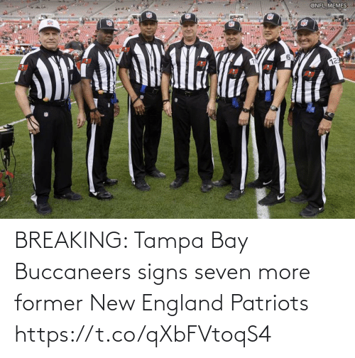new england: BREAKING: Tampa Bay Buccaneers signs seven more former New England Patriots https://t.co/qXbFVtoqS4