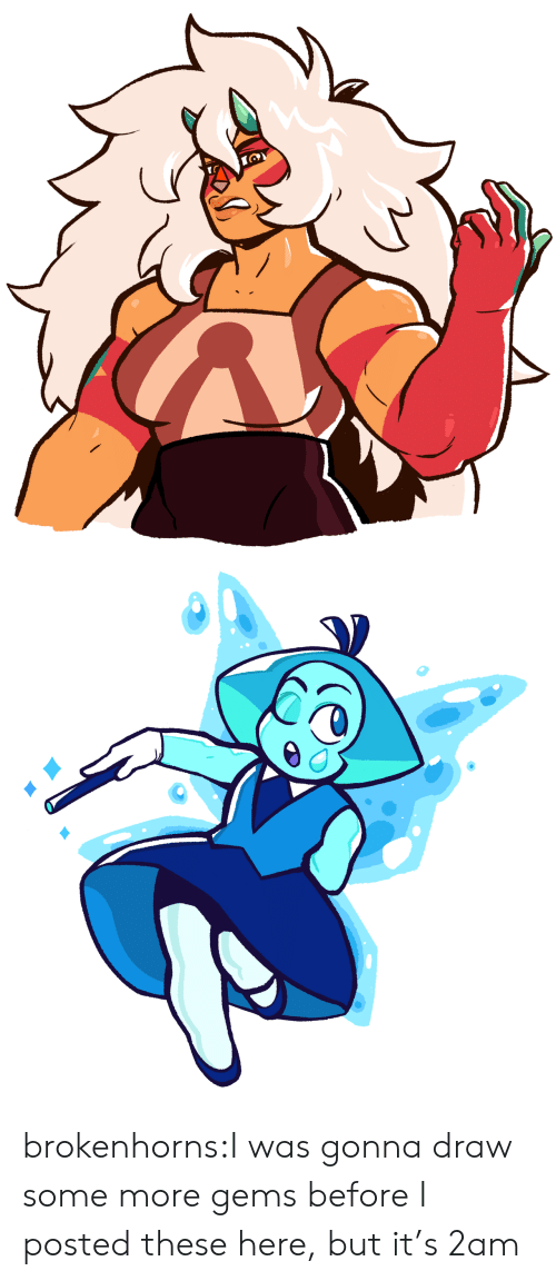 Some More, Tumblr, and Blog: brokenhorns:I was gonna draw some more gems before I posted these here, but it's 2am
