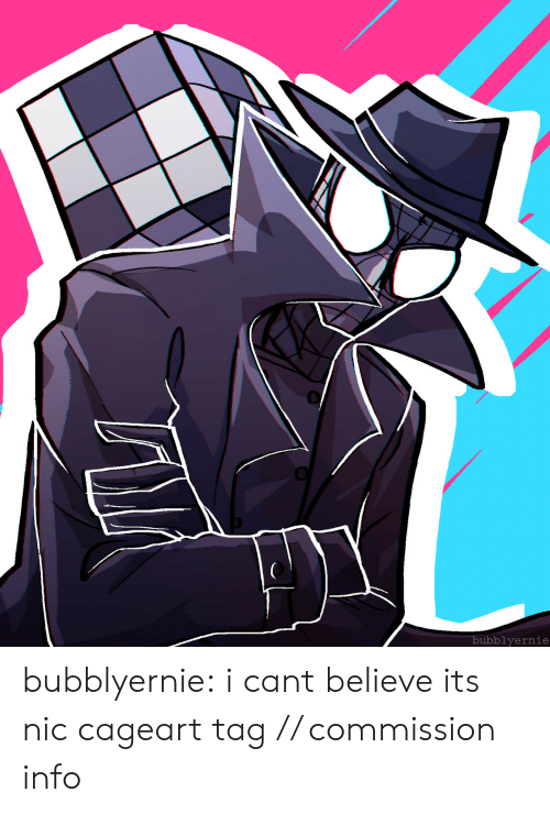 Target, Tumblr, and Blog: bubblyernie bubblyernie:  i cant believe its nic cageart tag // commission info