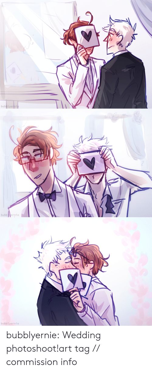 Target, Tumblr, and Blog: bubblyernie:  Wedding photoshoot!art tag // commission info