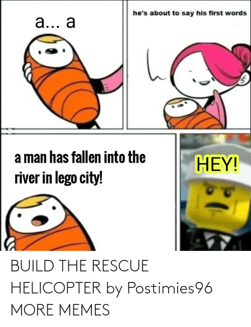 build: BUILD THE RESCUE HELICOPTER by Postimies96 MORE MEMES