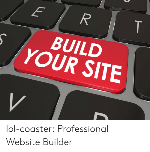 Lol, Tumblr, and Blog: BUILD  YOUR SITE lol-coaster:  Professional Website Builder