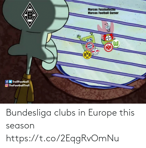 Europe: Bundesliga clubs in Europe this season https://t.co/2EqgRvOmNu