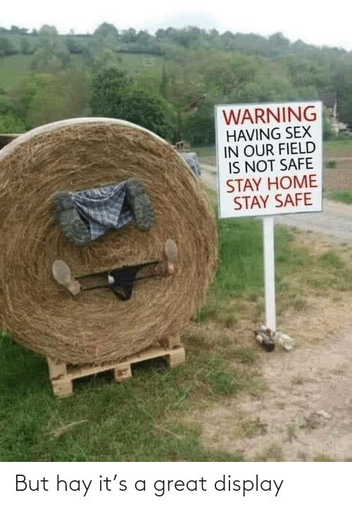 A Great: But hay it's a great display
