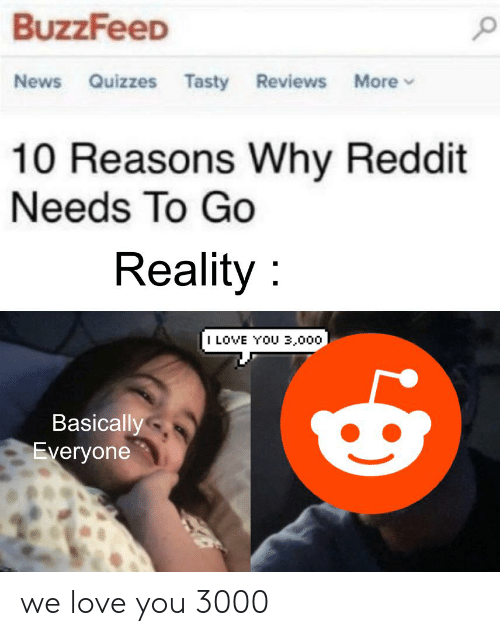 BuzzFeeD News Quizzes Tasty Reviews More 10 Reasons Why Reddit Needs